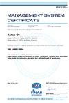 Katsa-ISO-14001 sertifikaatti