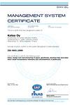 Katsa-ISO-9001 sertifikaatti