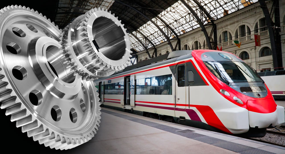 Mobile work machines and rail vehicles