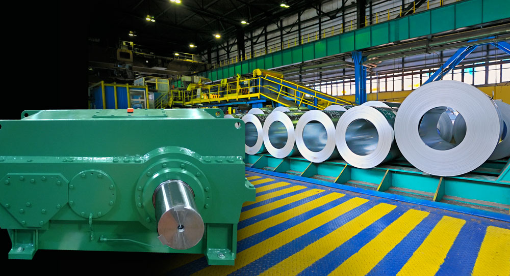 Steel industry and metal processing