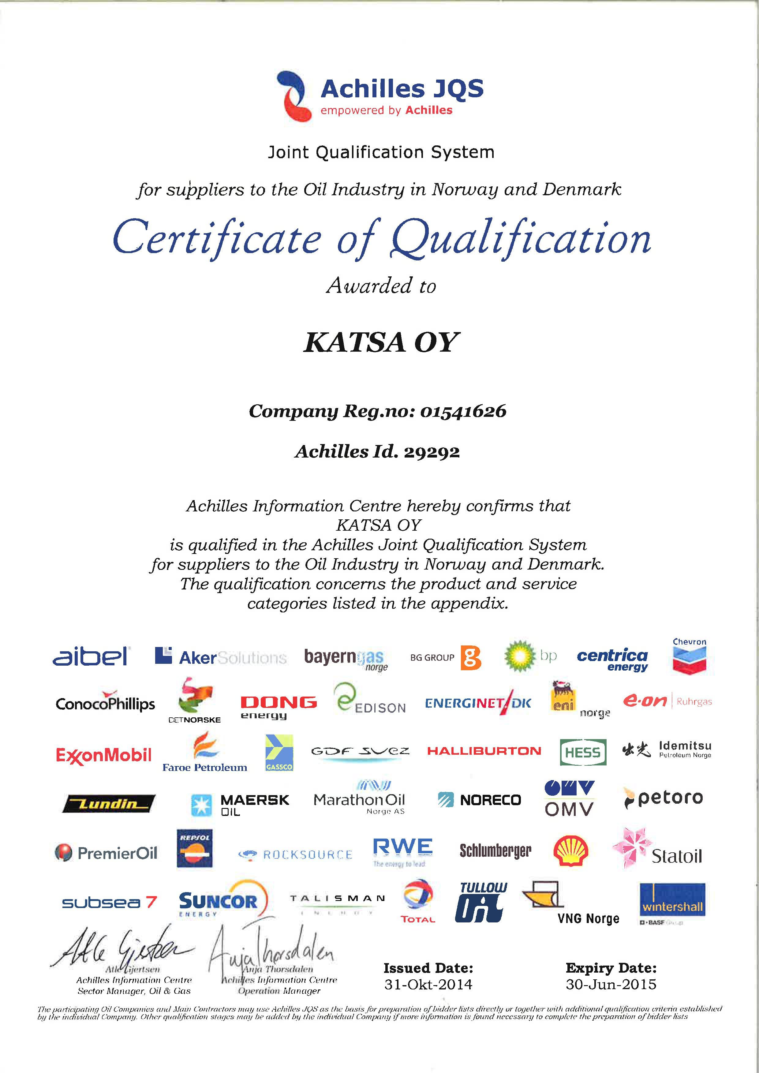 Katsa-Achilles-oil-industry