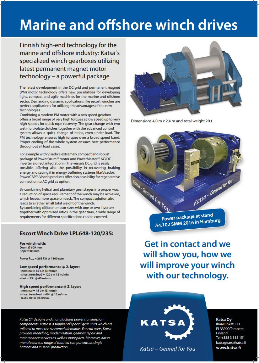 Escort Winch drive LPL648 leaflet