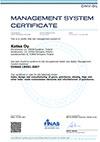 Katsa-OHSAS-18001 sertifikaatti