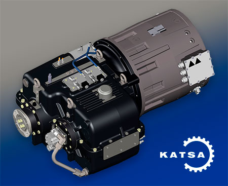 Katsa - Electric Drive Train Gearboxes