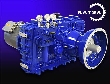 Katsa - Hybrid PTO gearbox